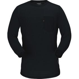 Norrøna Skibotn 3/4 Wool T-Shirt Herren caviar